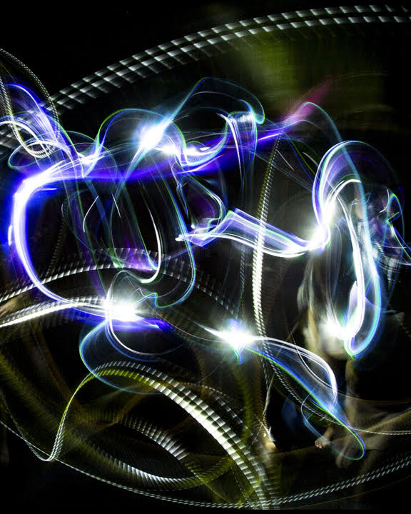 Example of Light Painting
